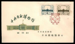 1959 China Stamps FDC Cover Day Of Issue Museum of Natural History