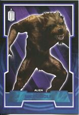 Doctor Who 2015 Blue Parallel [199] Base Card #115 Werewolf