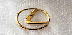 FITS New Lexus LX470 Emblem Front Grille 24K Gold 1998 1999 2000 2001 2002