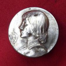 insigne broche bijou patriotique 1870 1914 JEANNE D'ARC  25,5mm
