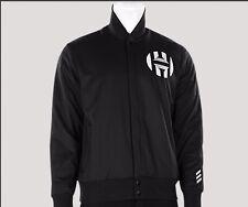 Adidas james harden Varsity Jacket Black Mens Small D2864