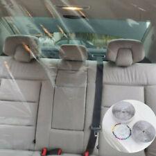 140X200cm Plastic Car Taxi Divider Film Partition Transparent Protective Cover