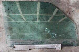 Mercedes Door Window Glass Front Right W126 Sedan