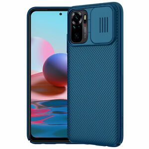Nillkin CamShield Camera Lens Protector Case Cover Xiaomi Redmi Note 10S, Blue