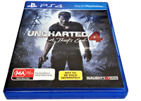 Uncharted 4 A Thief's End Sony PS4 Playstation 4