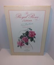"""The Royal Roses of London Limited Edition Hard Back Slip Case 20 5/8 x 15 5/8"""""""