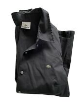 Lacoste Camisa Para Mujer, Negro, Talla 40 francés, Reino Unido 8-10?, apenas usados, Logotipo
