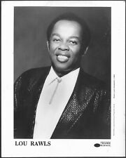 ~ Lou Rawls Original 1980s Blue Note Records Promo Portrait Photo
