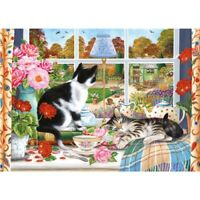 1000 piece Cat Jigsaw Puzzle | IT'S COLD OUTSIDE  | Brand New | Free P&P