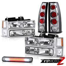 1994 1995 1996 1997 1998 Chevy CK Silverado Chrome Headlight Taillight 3RD+Bulbs