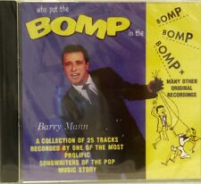 BARRY MANN - Who Put the BOMP in the Bomp.... 25 Cuts