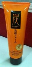 Daiso Japan Sumi Charcoal Facial Cleansing Form Fragrance Free Wash 80g