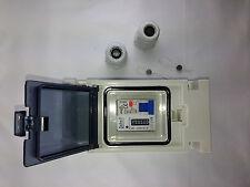 Zwischensteckerzähler Zwischenzähler Wechselstrom Easycount 1.4 + FI-LS Schalter