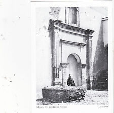 "~Post Card~""Priest/Mission San Luis Rey de Francia"" -Missions of S. Ca.- (#33)"