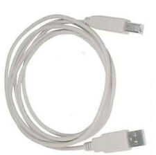 USB Cord 6ft Whte Cable for HP Photosmart C4390 C4480 C4740 C4750 C4380 Printer