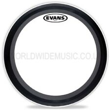 "Evans EQ3 22"" Clear Bass Drum 2 Ply Batter Head  -  BD22EMAD2"