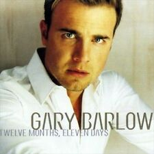 Twelve Months, Eleven Days by Gary Barlow (Singer/Songwriter) (CD, Oct-1999, RCA)