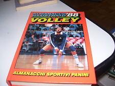 LIBRO ALMANACCO ILLUSTRATO DEL VOLLEY 88 1988 PANINI