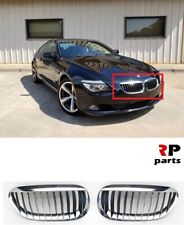 FOR BMW 6 SERIES E63 / E64 NEW FRONT BUMPER UPPER CENTER GRILLE PAIR SET L&R