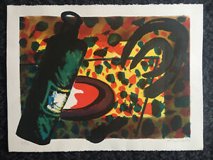 ALAN COX (b1941) Large Limited Ed Lithograph ed 12/12 Signed Rego Hodgkin