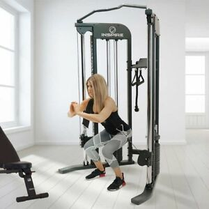 Inspire Fitness FTX Functional Trainer w/ Bench & 1-Year Fitness App READ INFO
