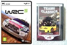 wrc 5 & Taxi 3 & Extreme Rush & Elite Heli Squad & Manhattan Chase    new&sealed