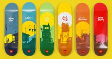 Chocolate Skateboards Evan Hecox Crailtap Classics Sunset Series Set of 6 Decks