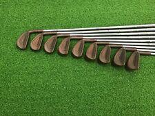 RARE Triumph Golf THE MASTERS IV Beryllium Copper BeCu Iron Set 3-PW SW Right RH
