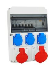 Baustromverteiler Wandverteiler Stromverteiler Komplett 2x 16A 3x230V #2 :)