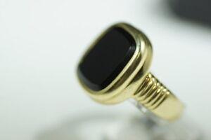 Neuer schwerer Herrenring 585/14k, 23,26 gramm, Einzelstück-Juwelierarbeit