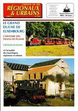 CHEMINS de FER RÉGIONAUX et URBAINS - N° 284 (2001 - 2) (FACS - CFRU) (Train)