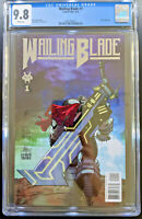 Wailing Blade #1 Silver Cover CGC 9.8 Comix Tribe