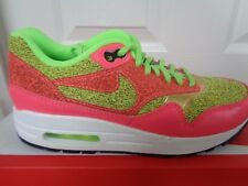 WMNS Nike Air Max 1 SE Green Pink Gold Women Running Shoes SNEAKERS 881101-300 UK 3.5