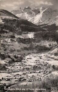 Tschagguns gegen 3 Türme, Vorarlberg gl1962 F9532