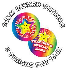 36 X Teacher's Premio especial - 60mm recompensa Stickers-Infantiles, Escuelas, profesores