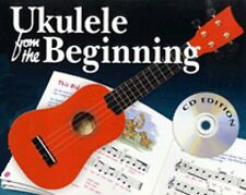Ukulele from the Beginning Sheet Music GCEA Tuning Book and CD NEW 014034453