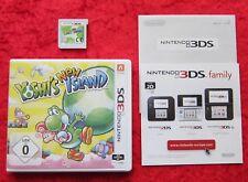 New Yoshi´s Island, 3D Nintendo 3DS Spiel, deutsche Version