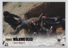2016 Cryptozoic The Walking Dead Season 4 Part 1 #15 I Don't Want It! Card 7j3