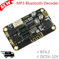 MP3 Bluetooth Decoder Board BT4.2 Stereo Audio Receiver Module Support AUX Input
