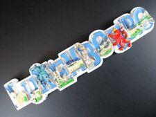 Luxemburg Luxembourg großer 3 D Magnet Buchstaben,Polyresin Souvenir,Neu