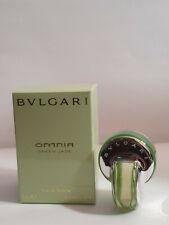 Bvlgari Omnia Green Jade  EDT 5ml boxed miniature, original