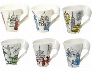 Porcelain Mugs - Cities of The World Cups 300ml Villeroy & Boch