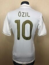 REAL MADRID 2011/2012 OZIL HOME FOOTBALL SOCCER CAMISETA JERSEY ADIDAS SIZE L
