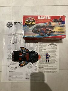 MASK Kenner Raven 1986 Box And Instructions