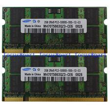 Samsung 4GB 2x2GB DDR2 PC2-5300 667Mhz SODIMM Memory ram For iMac Mid 2007 intel