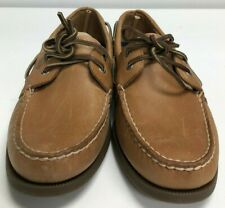 Sperry Men's Authentic Original Leather Boat Shoe - Sahara Leather .    Size: 10