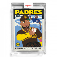 Topps Project70 Card 61 - 1986 Fernando Tatis Jr. by Keith Shore SD Padres
