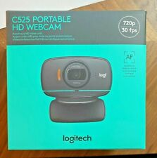NEW Sealed Logitech HD Webcam C525, Portable HD 720p- In Hand! Fast Shipping