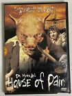 Dr. Moreau's House of Pain DVD RARE oop Horror cult Halloween