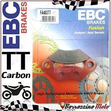 PASTIGLIE FRENO ANTERIORE CARBON EBC FA483TT KEEWAY GTX QUAD 300 2010